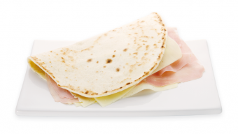 Piadina con cotto